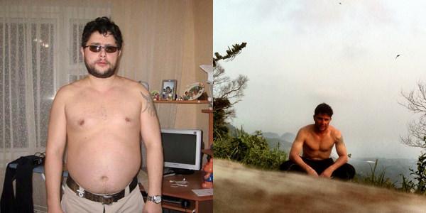 Сергей Князев до и после отказа от курения